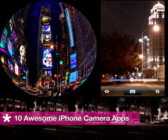 10 Awesome Camera Apps