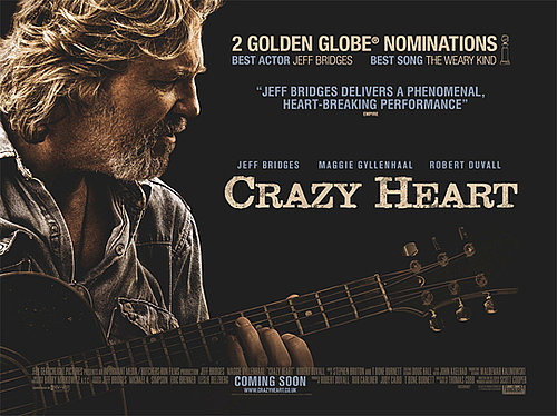 Watch Trailer For Crazy Heart Starring Jeff Bridges, Maggie Gyllenhaal, Colin Farrell