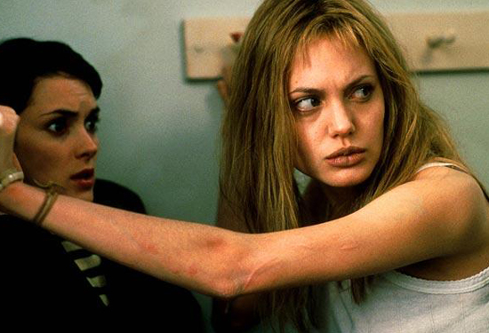 Angelina Jolie in Girl, Interrupted