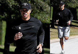 First Photos of Tiger Woods Since Thanksgiving Car Accident