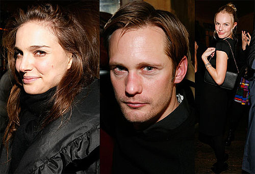Photos of Natalie Portman, Kate Bosworth, And Alexander Skarsgard at The Last Magazine Party During 2010 Fall New York Fashion 2010-02-18 11:30:36