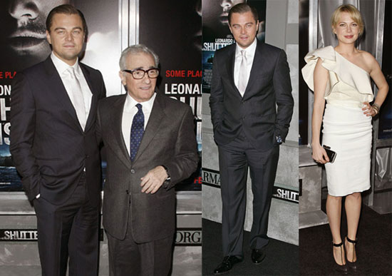 Photos of Michelle Williams, Leonardo DiCaprio, And Martin Scorsese Promoting Shutter Island in NYC 2010-02-18 18:30:04