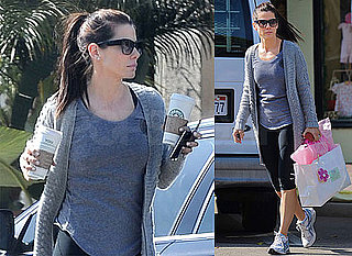 Photos Sandra Bullock Running Errands in LA