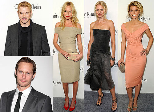 Photos of Ryan Phillippe, Kate Bosworth, Naomi Watts, Helena Christensen, Rachel Zoe, and Kellan Lutz at Calvin Klein's FW Party