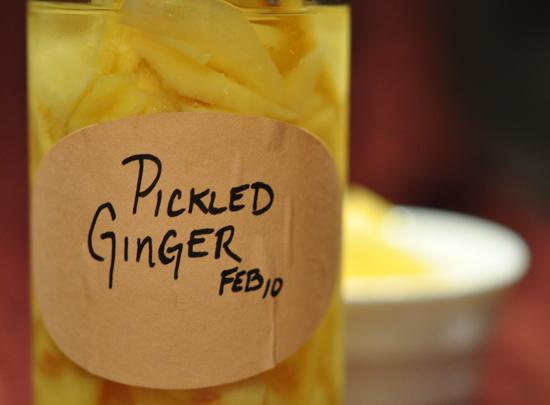 Pickled Ginger Recipe