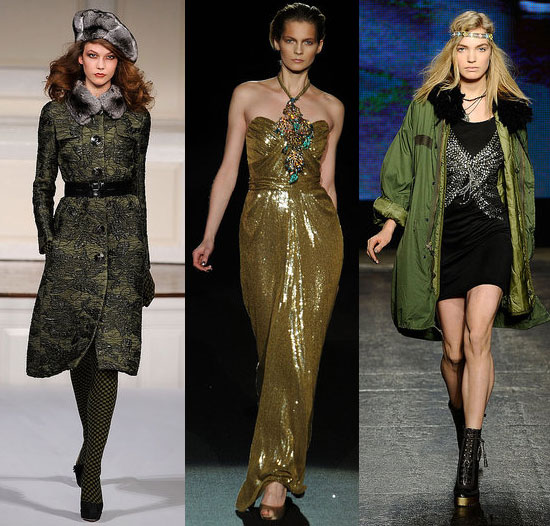 2010 Fall NYFW Trend: The Resurgence of Green