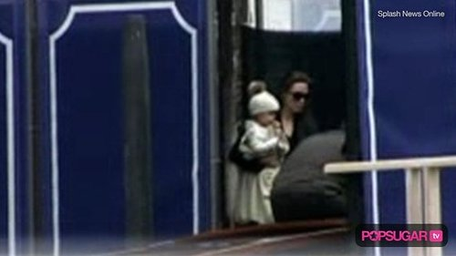 Video: Jolie-Pitt Twins Say Ciao to Italy