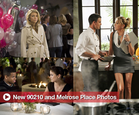 Check Out Photos From New Episodes of 90210 and Melrose Place!