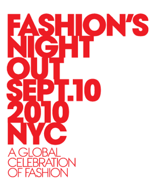 CBS Television Network Films Prime-Time Special About the 2010 Fashion's Night Out in NYC