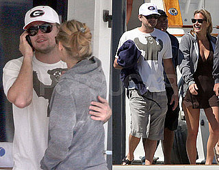 Photos of Leonardo DiCaprio and Bar Refeali In Mexico on a Yacht