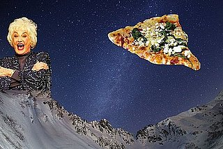 Bea Arthur Mountains Pizza