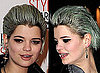 Pixie Geldof Green Hair