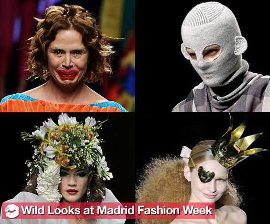 See the Wildest Looks From Spanish Fashion Week