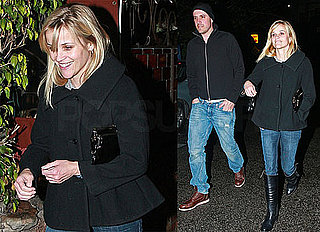 Photos of Reese Witherspoon and Jim Toth On a Date in The Rain in LA