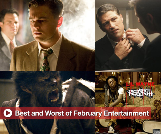 Buzz Backtrack: Best and Worst of February Entertainment