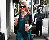 Slide Photo of Sarah Michelle Gellar Getting Starbucks