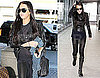 Photos of Lindsay Lohan Leaving LAX and Arriving in London