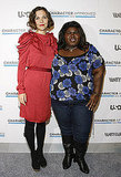Photos of Maggie and Gabourey