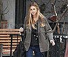 Slide Photo of Whitney Port Shooting Scenes for The City in New York