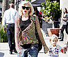 Slide Photo of Gwen Stefani and Kingston Rossdale Shopping