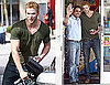 Photos of Kellan Lutz Getting Gas in LA