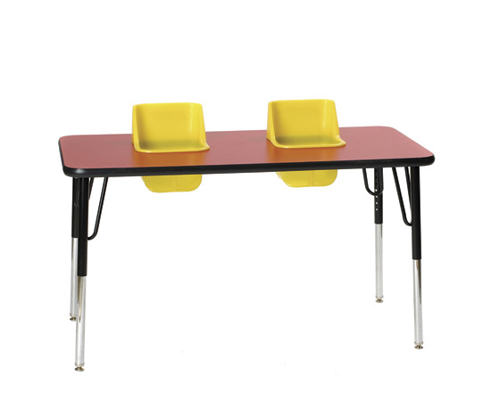 Twin High Chair and Activity Table