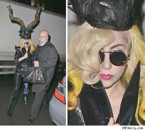 Lady Gaga Goes Back to Her family