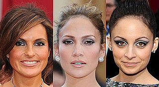 Stars Wear Bule-Grey Eyeshadow at the 2010 Oscars
