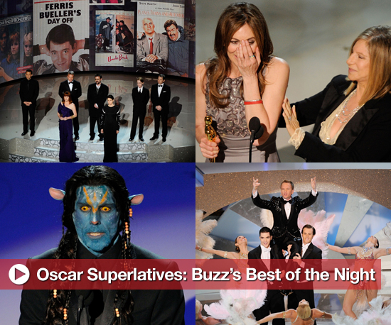 Oscar Superlatives: Buzz's Best of the Night