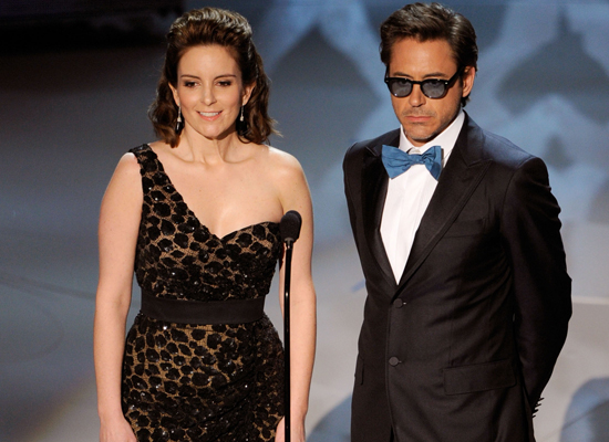 Best Presenter Banter: Tina Fey and Robert Downey Jr.