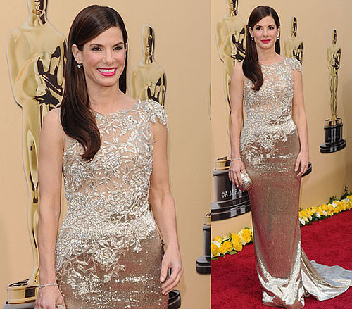 Sandra Bullock Brings Her Own Gold to the Oscars!