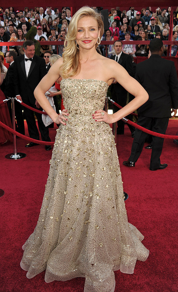 Photos of Cameron Diaz at the Oscars