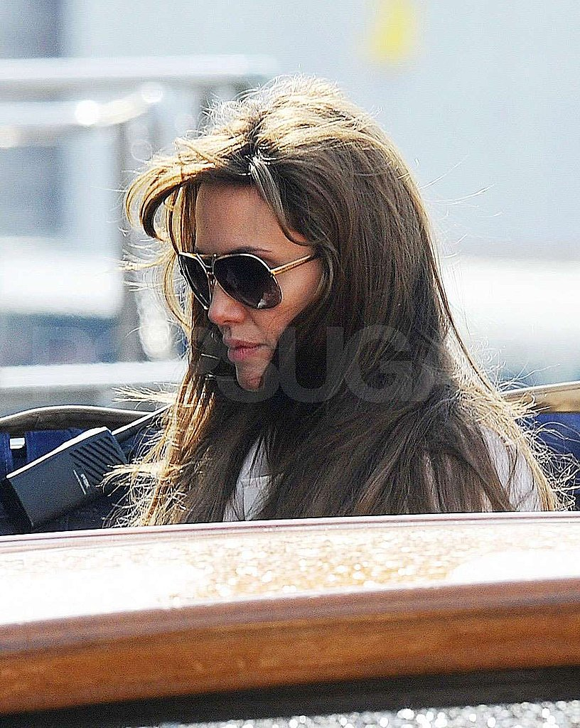 Photos of Jolie-Pitts on Oscar Sunday
