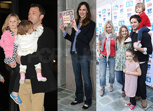 Photos of Jennifer Garner And Peter Facinelli at The First Annual Milk And Bookies Event in LA