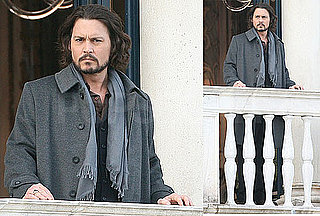 Photos of Johnny Depp Filming The Tourist in Venice Without Angelina Jolie 2010-03-01 10:00:00