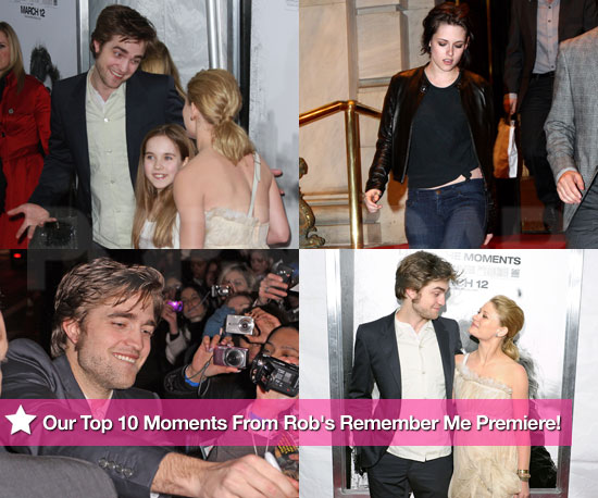Our Top 10 Moments From Robert Pattinson's Remember Me Premiere!