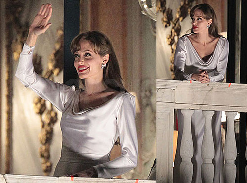 Photos of Angelina Jolie Filming The Tourist in Venice 2010-03-02 15:00:00