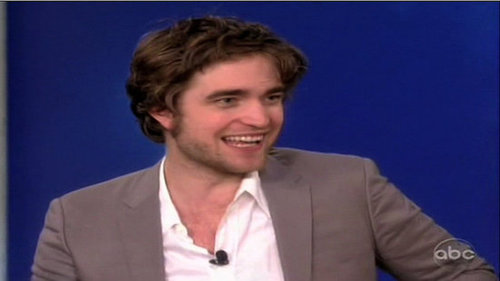 Robert Pattinson on The View 2010-03-02 13:05:16