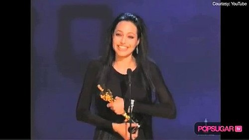 Angelina Jolie Oscar Win, Angelina Jolie Oscar Acceptance Speech, Angelina Jolie Best Supporting Actress