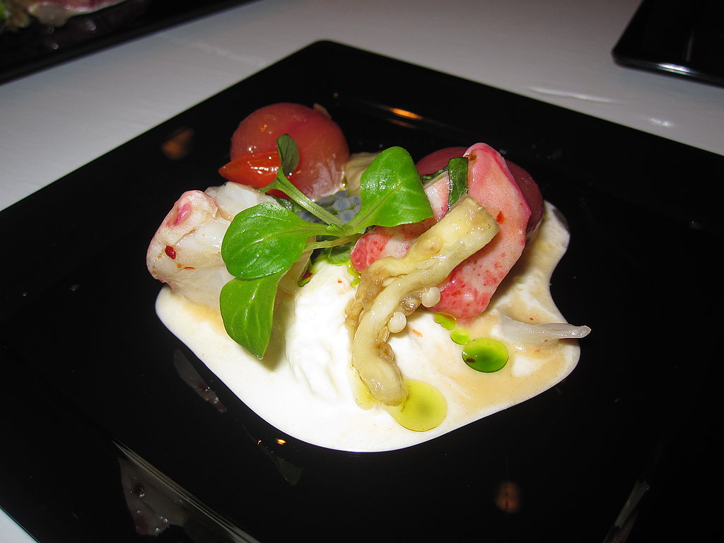 Lobster With Burrata