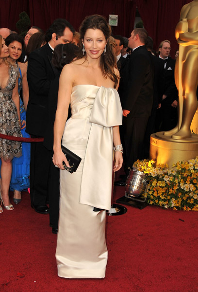 Jessica Biel at the 2009 Academy Awards