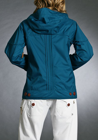 Gretchen Bleiler Lighter Fare Jacket 2.0, blue ($220)