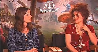 Anne Hathaway and Helena Bonham Carter Interview About Alice in Wonderland