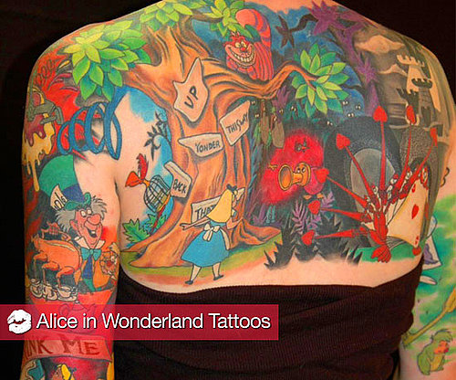 Alice in Wonderland Tattoos 2010-03-05 04:00:02