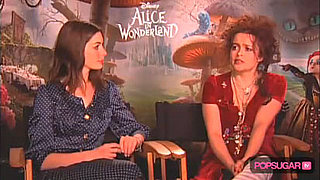 Exclusive Interview With Alice in Wonderland's Anne Hathaway and Helena Bonham Carter 2010-03-04 08:30:00