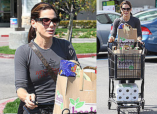 Photos of Sandra Bullock Shopping at Whole Foods