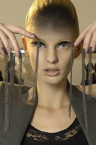 Gareth Pugh Manicure For Fall 2010