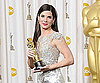 Slide Photo of Sandra Bullock and Her Oscar
