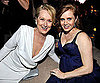 Slide Photo of Meryl Streep and Amy Adams at Oscar Party