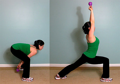 How to Strengthen Glutes With a Kettlebell